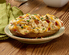 Jenny Craig Food: Loaded Baked Potato