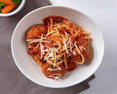 Jenny Craig Food: Spaghetti with Meatballs