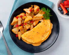 Jenny Craig Food: Chedder Cheese Omelet