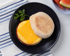 Jenny Craig Food: Sunshine Breakfast Sandwich
