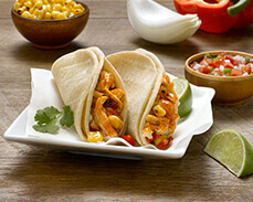 Jenny Craig Food: Chicken Street Tacos