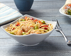 Jenny Craig Food: Ramen Noodle Bowl with Chicken and Veggies